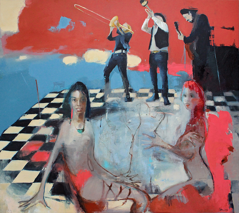 Inga Aru_Augenblick_2013_oil on canvas_160 x 180 cm