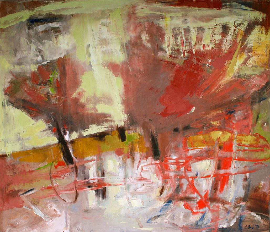 Inga Aru_Wind_1998_oil on canvas_120 x 140 cm